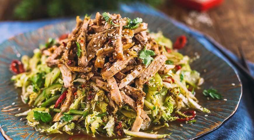 Салат любимый с говядиной рецепт с фото