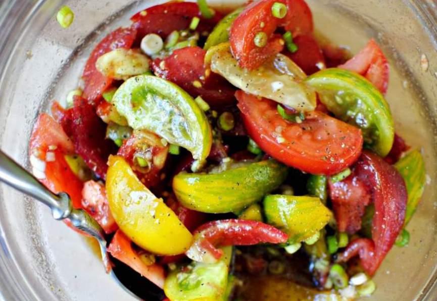 Блюда из помидоров рецепты с фото