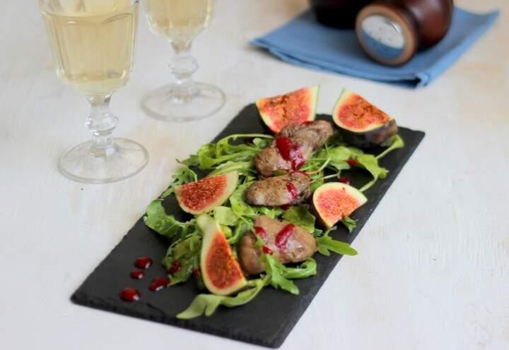 салат для романтического ужина фото