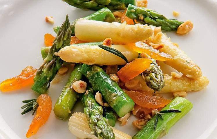 Салаты со спаржей рецепты простые и вкусные рецепты