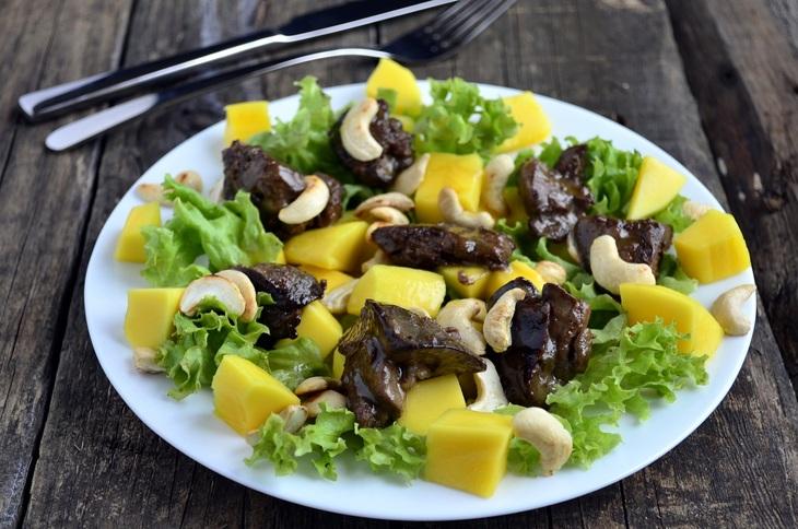 салат из гусиной печени рецепт с фото